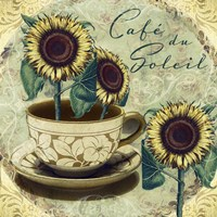 Cafe Du Soleil by Mindy Sommers - various sizes