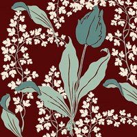 Scarlet and Tulips by Mindy Sommers - various sizes