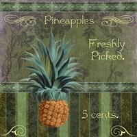 Fresh Pineapples Fine Art Print