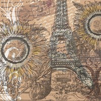 Paris Pastiche I by Mindy Sommers - various sizes