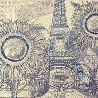 Paris Pastiche II by Mindy Sommers - various sizes