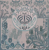 Teal Art Nouveau by Mindy Sommers - various sizes