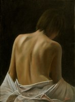 Bare Back 1 by John Silver - various sizes, FulcrumGallery.com brand
