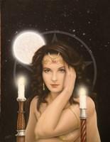Moon Priestess Fine Art Print
