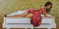 On the Piano by John Silver - various sizes