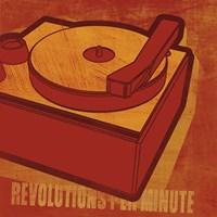 Revolutions per Minute by John W. Golden - various sizes