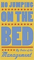 No Jumping On The Bed - Boy by John W. Golden - various sizes