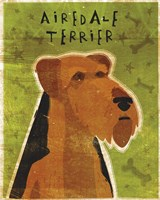 Airedale Fine Art Print