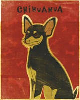 Chihuahua (black and tan) by John W. Golden - various sizes