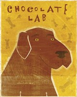 Lab (chocolate) by John W. Golden - various sizes