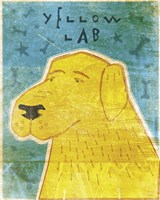 Lab (yellow) by John W. Golden - various sizes