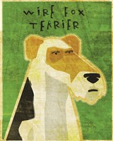 Wire Fox Terrier by John W. Golden - various sizes
