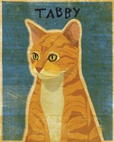 Tabby (orange) Fine Art Print