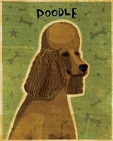 Poodle (brown) by John W. Golden - various sizes