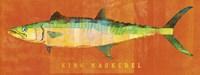 King Mackerel Framed Print