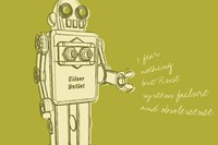 Lunastrella Robot No. 1 by John W. Golden - various sizes