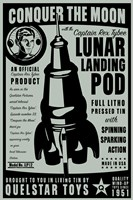 Quelstar Lunar Lander by John W. Golden - various sizes