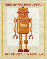 Stan Jr. Box Art Robot Fine Art Print