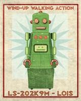 Lois Box Art Robot Fine Art Print