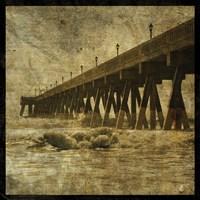Ocean Pier No. 2 Framed Print