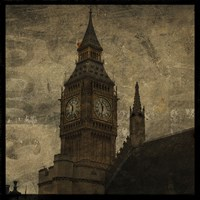 Big Ben St. Stephens by John W. Golden - various sizes, FulcrumGallery.com brand