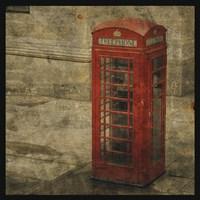 London Calling Framed Print