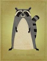 The Artful Raccoon Fine Art Print