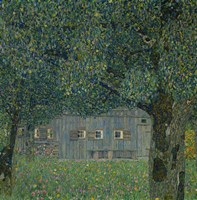 Upper Austrian Farmhouse, 1914 Fine Art Print