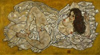 Reclining Woman, 1917 by Egon Schiele, 1917 - various sizes