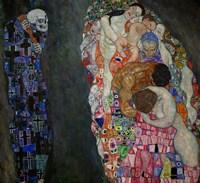 Life And Death (Tod Und Leben) by Gustav Klimt - various sizes