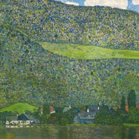 Litzlberg on Lake Attersee, Austria. 1915 Fine Art Print