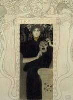 Tragedy by Gustav Klimt - various sizes