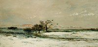 Winter, 1873 by Charles Francois Daubigny, 1873 - various sizes