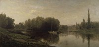The Banks Of The Oise, 1859 by Charles Francois Daubigny, 1859 - various sizes