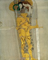 The Knight in Shining Armour by Gustav Klimt - various sizes