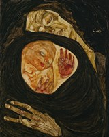 Dead Mother, 1910 Fine Art Print