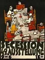 Sezessionsplakat, 1918 by Egon Schiele, 1918 - various sizes