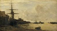 The Thames At Erith Fine Art Print