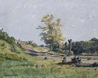 Landscape by Henri Joseph Harpignies - various sizes