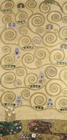 Sketches For The Frieze For The Palais Stoclet In Brussels II by Gustav Klimt - various sizes
