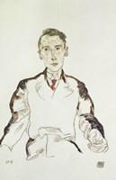 Portrait of Dr. Heinrich Rieger, 1917 by Egon Schiele, 1917 - various sizes