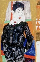 Erich Lederer in Front of a Window, 1912 by Egon Schiele, 1912 - various sizes - $24.49