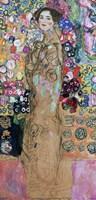 Dame Mit Faecher (Maria Munk)- Lady With Fan-1918 by Gustav Klimt, 1918 - various sizes