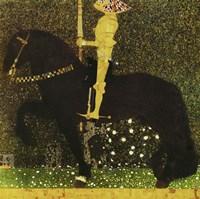 Golden Knight by Gustav Klimt - various sizes, FulcrumGallery.com brand