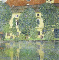 Schloss Kammer Am Attersee Iii (Wasserschloss), 1910 by Gustav Klimt, 1910 - various sizes