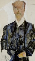 Portrait of Architect Otto Wagner by Egon Schiele - various sizes