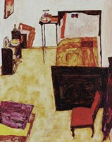 My Living Room, 1911 by Egon Schiele, 1911 - various sizes