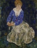 Portrait of Edith Schiele by Egon Schiele - various sizes