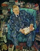 Portrait Dr. Hugo Koller, 1919 Fine Art Print