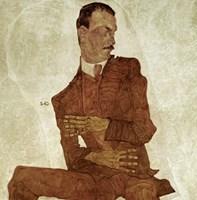 Portrait Arthur Roessler, 1910 by Egon Schiele, 1910 - various sizes